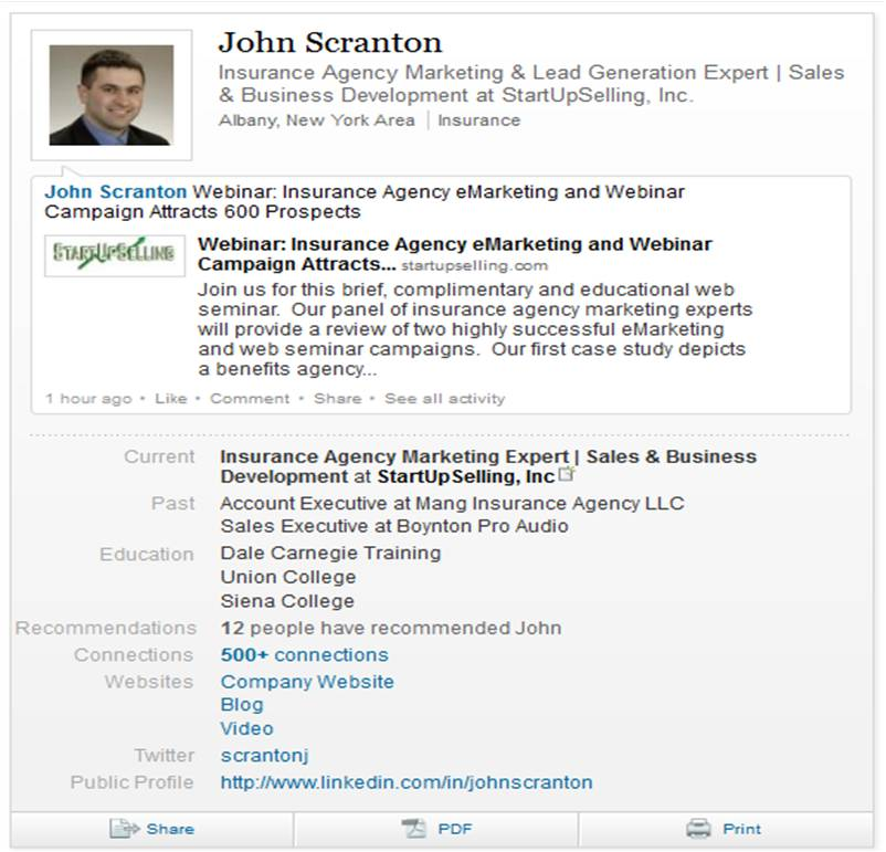 What Does Your LinkedIn Profile Look Like?